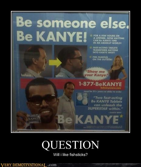 change fishsticks kanye question