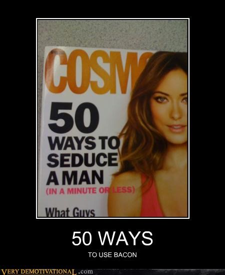 bacon cosmo magazine wtf - 4665394176