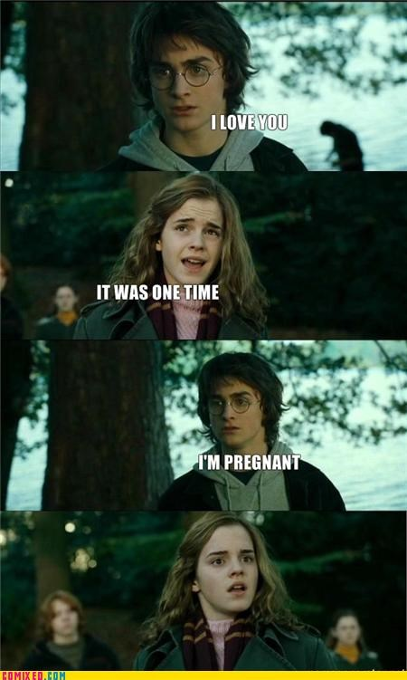 bad idea,Harry Potter,pregnant