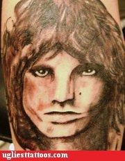 tattoos,the doors,jim morrison,funny,derp