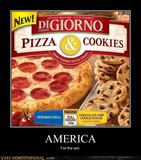 america cookies FTW pizza - 4666349824
