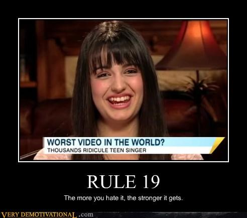 internet,Rebecca Black,rule 19