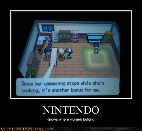 kitchen,nintendo,women