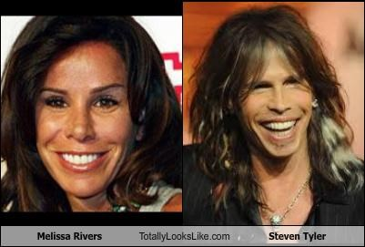 host,melissa rivers,musicians,personality,steven tyler