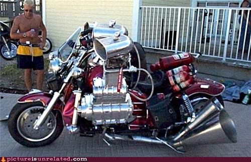 crazy motorcycle OverKill 9000 wtf - 4666980864