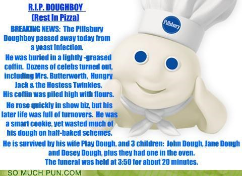 acronym,dough,doughboy,obituary,pillsbury,pillsbury doughboy,rip