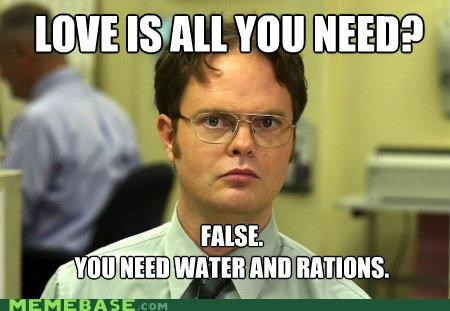 beatles Beetles dwight shrute fact false love Memes - 4667812096
