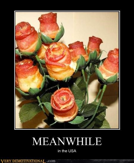 bacon delicious flowers - 4667832320