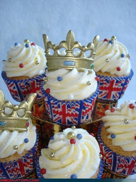 cupcakes funny wedding photos kate middleton prince william royal wedding Royal Wedding Madness - 4668210432
