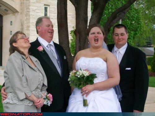 bride,derp,funny wedding photos