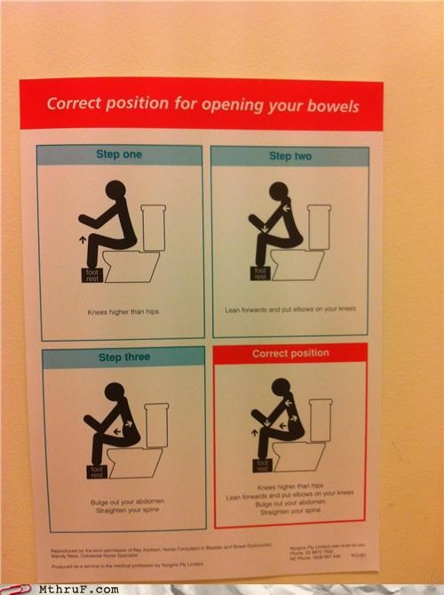 bathroom ew procedure wtf
