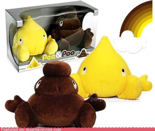 cute pee Plush poo toy - 4668610816