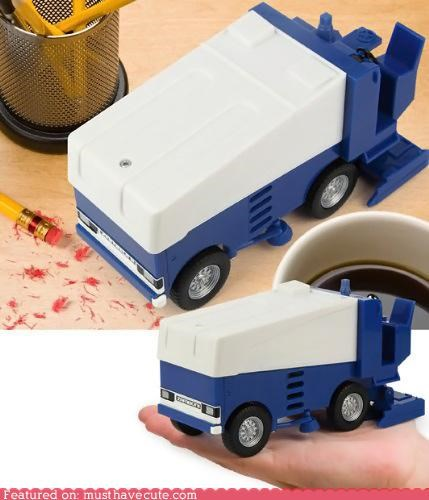 cleaner desk gadget vacuum vehicle zamboni - 4668615424
