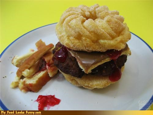 breakfast,burger,donuts,jelly,sweets