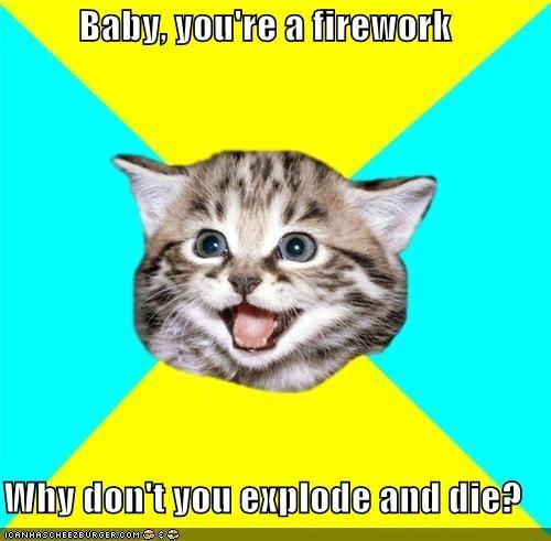 die firework Happy Kitten lol lyrics - 4668636672