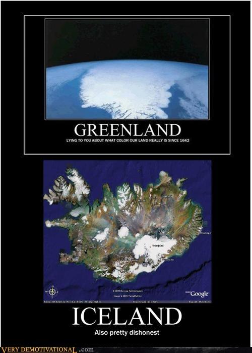 dishonest,green,greenland,Iceland