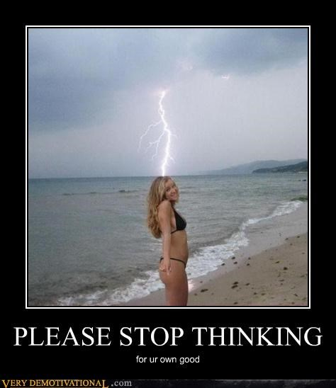 idea,lightening,ocean,thinking