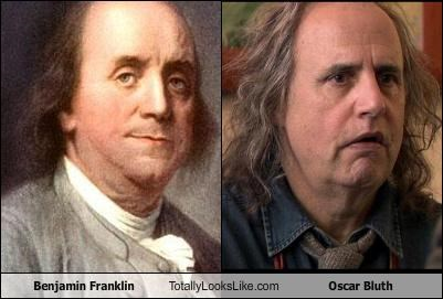 actors arrested development Benjamin Franklin historical figures jeffrey tambor Oscar Bluth TV - 4669978112