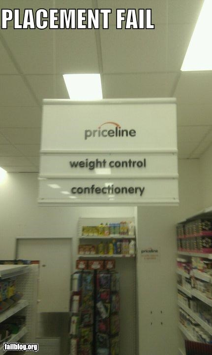 aisles,cruel,failboat,food,g rated,grocery store,sweets,weight loss