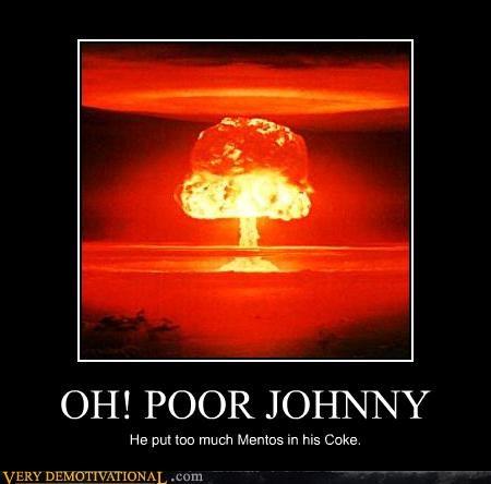 atom bomb coke explosion mentos - 4670836736