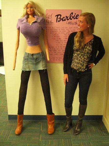 Barbie IRL,Eating Disorder Awareness,Galia Slayen,psa