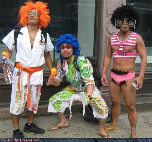 70s kung fu sunglasses wigs - 4671456768