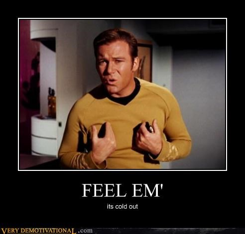 cold,james t kirk,nipples,Star Trek