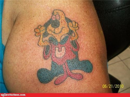 bad fear underdog tattoos funny