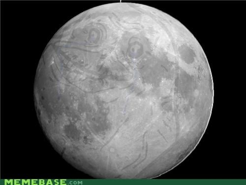 forever alone man on the moon skillz - 4671632128