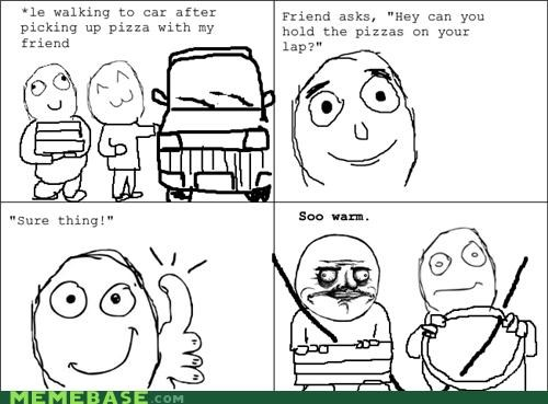car,food,me gusta,pizza,Rage Comics,warm
