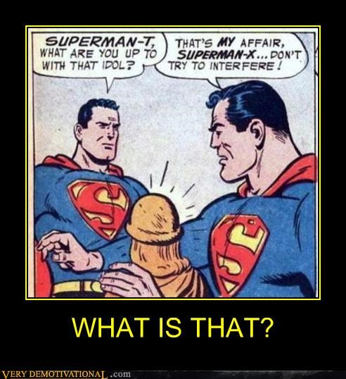 bizarre comics superman wtf - 4672294400