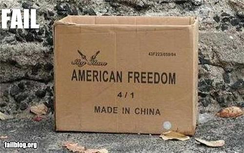 boxes,China,failboat,grated,made in,oops,usa