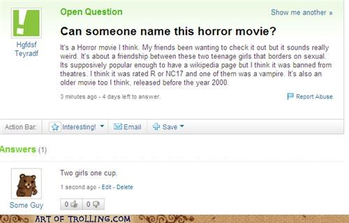 horror movie pedobear shock sites two girls Yahoo Answer Fails - 4672513280