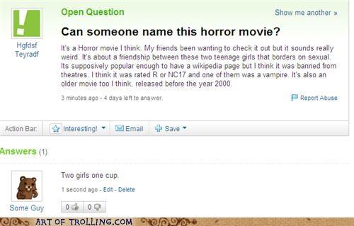 horror movie pedobear shock sites two girls Yahoo Answer Fails - 4672513280
