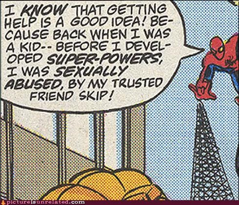 comics Spider-Man TMI
