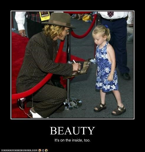 actor celeb demotivational funny Johnny Depp