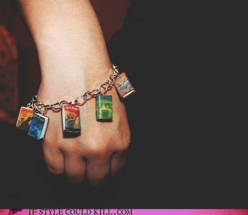 bracelet cool accessories geek chic Harry Potter - 4673063168