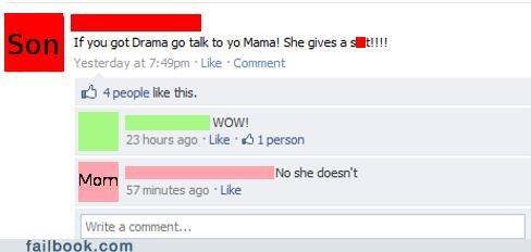 drama,yo mama