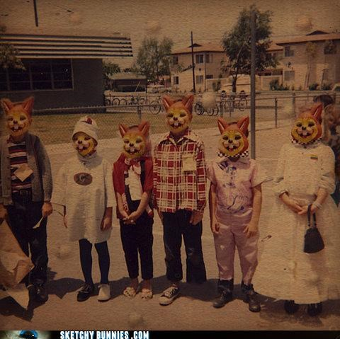 children creepy masks why - 4673117952