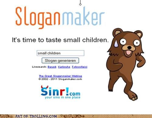 children,pedobear,taste