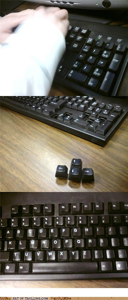 Problem? Keyboarding class?