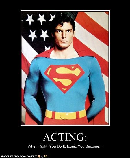 actor celeb Christopher Reeves demotivational funny superman - 4674846720