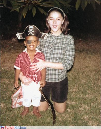 barack obama,childhood,Pirate,political pictures