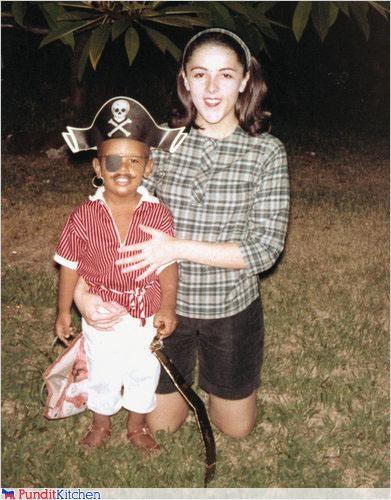 barack obama childhood Pirate political pictures - 4675302144