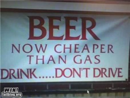 advice banners beer drinking driving - 4675457280