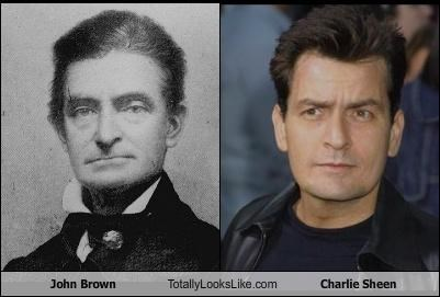 abolitionist,actors,Charlie Sheen,historical figures,John Brown
