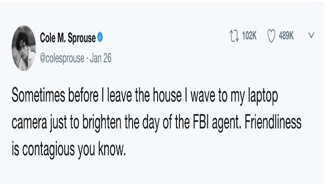 FBI tweets cheezcake funny - 4676357