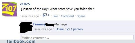 marriage scams failbook g rated