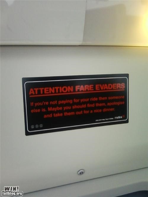awesome at work polite public transportation signs - 4677751808