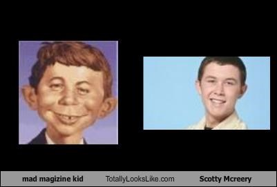 mad magizine kid  Totally Looks Like Scotty Mcreery